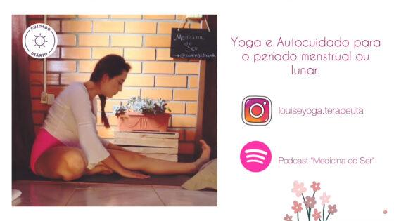 """""""Prática de Yoga"""" com Bruna Louise Schroeder Martins"""