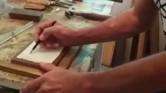 """Artesanato """"Entalhe em Madeira"""" com Marcio Roberto Silge"""