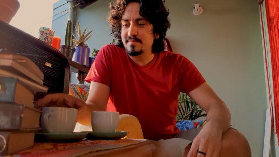 """Apresentação Teatral """"Eu Visito A Tua Presença"""" com Samuel Paes de Luna"""