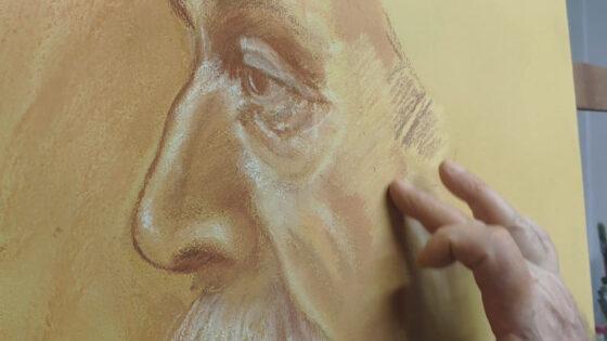 """Técnica """"Pintura Com Terra"""" com Luis Carlos Vigarani"""