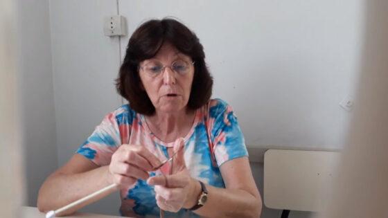 """Artesanato """"Tricô"""" com Vitória Zunino Sebold"""